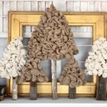 Burlap Tree - A Unique DIY