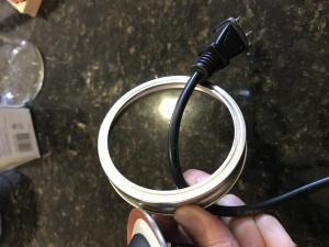 how to make a mason jar hanging light
