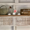 Old Shutters Make Easy DIY Shelves