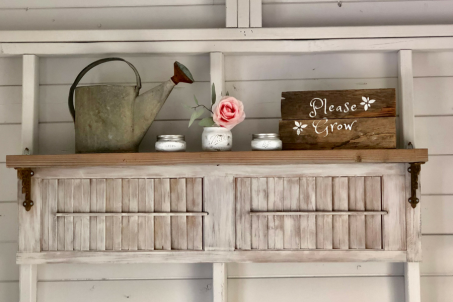 how to use old shutters