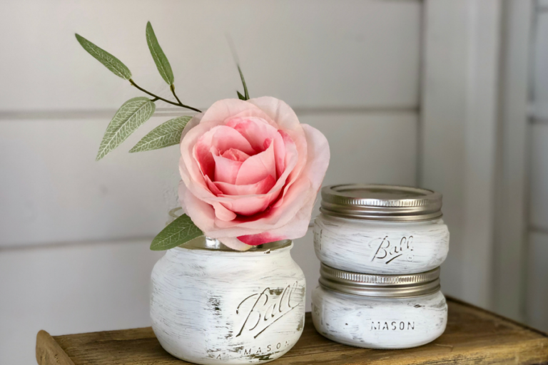 3 Simple Mason Jar DIY Projects