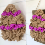 Burlap Easter Egg - An Easy DIY