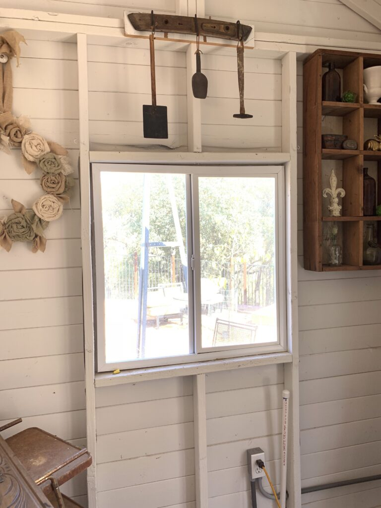 Sheshed windows