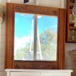 Unique Vintage Wood Window Frame