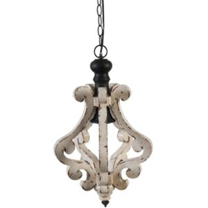 White Farmhouse Chandelier