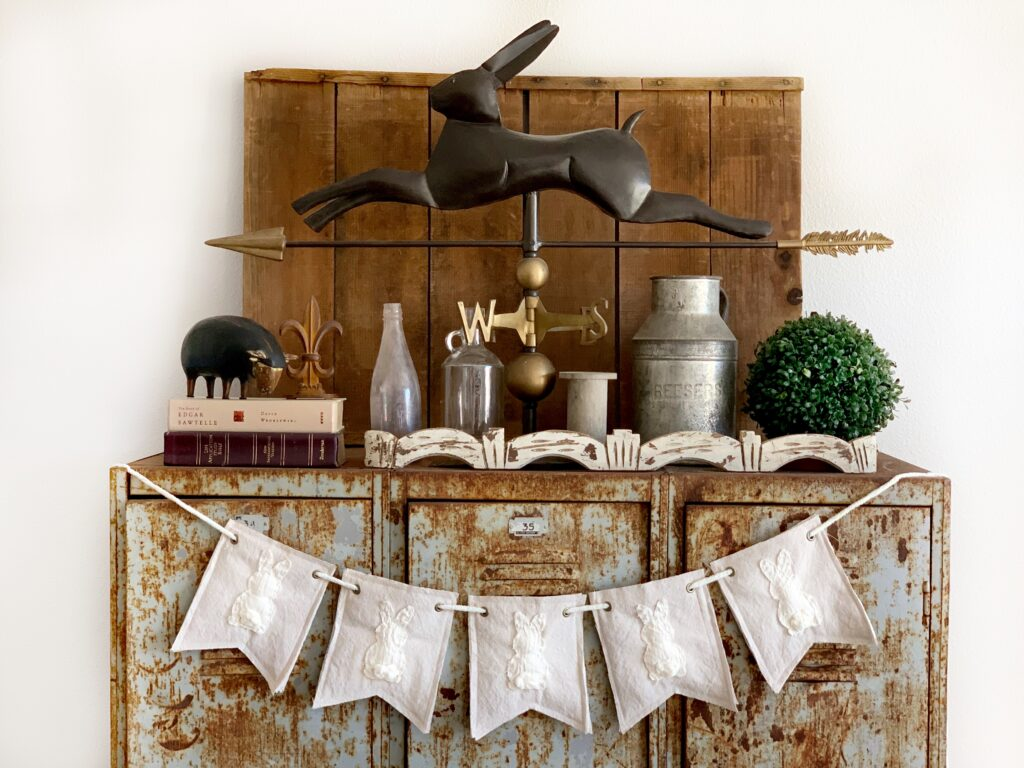 Farmhouse banner DIY