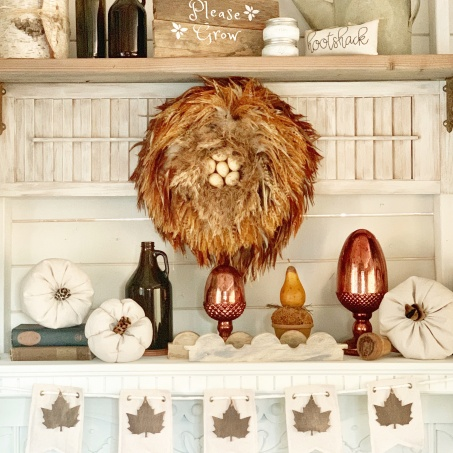 Drop Cloth Pumpkins DIY