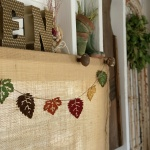 Easy Fall Garland DIY