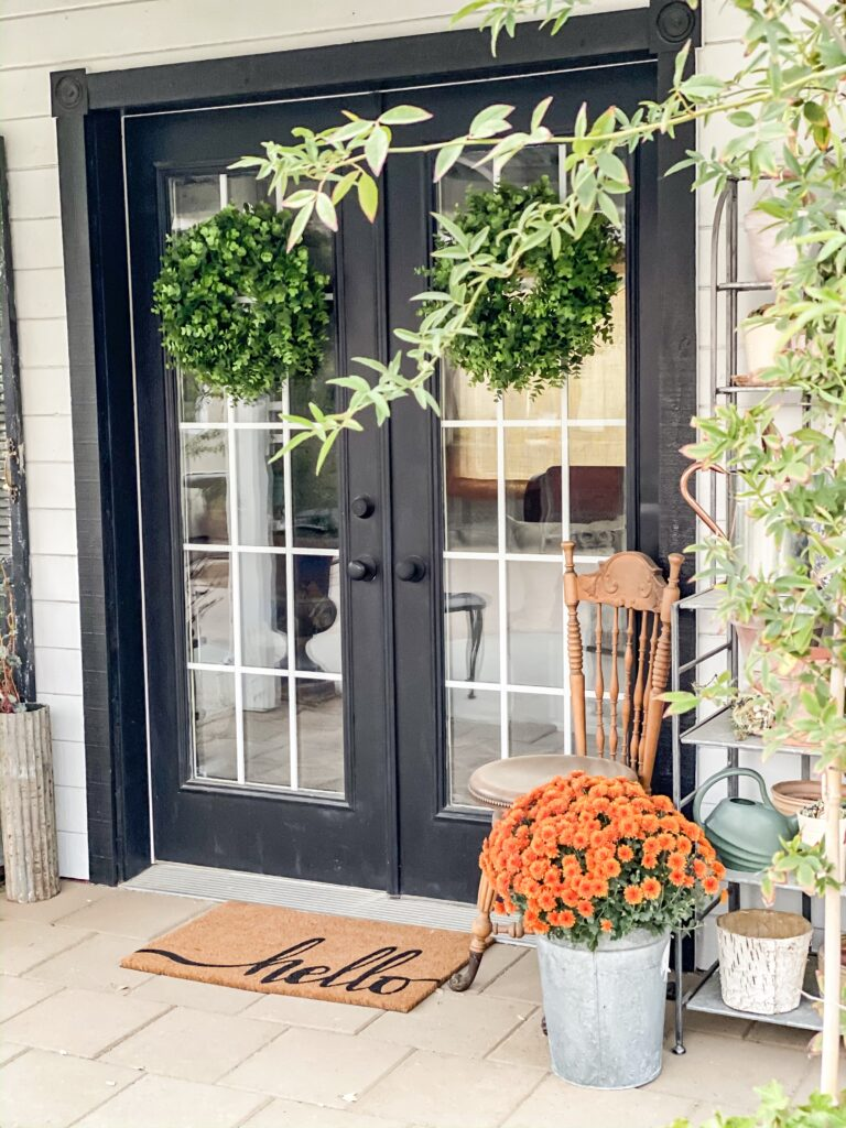 Fall Sheshed Decor