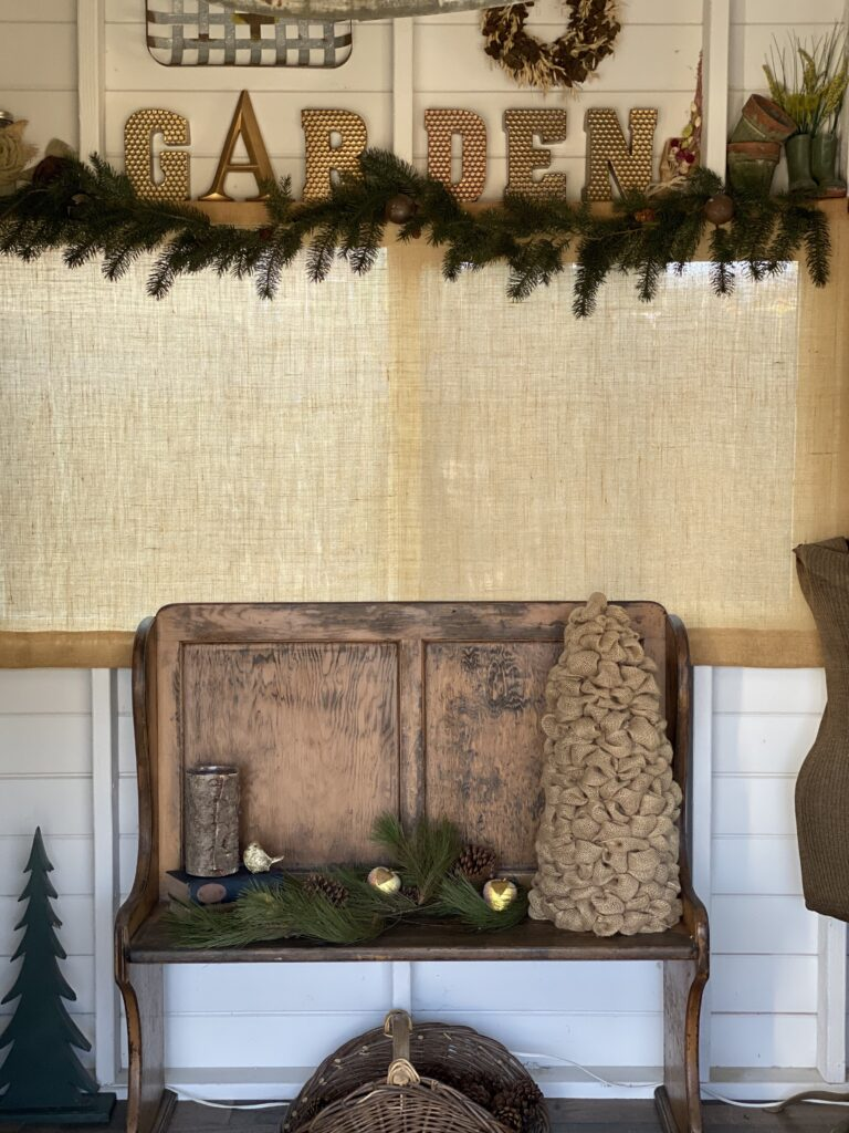 Christmas Sheshed Decor