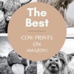 Best Neutral Cow Prints On Amazon