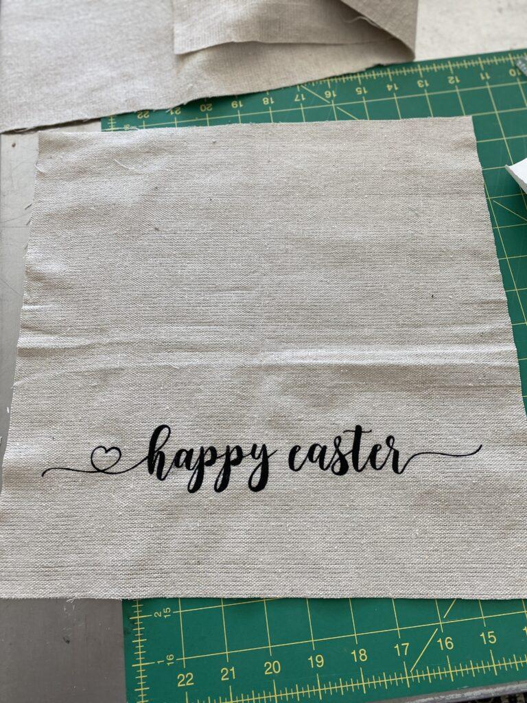 Easter Pillow DIY