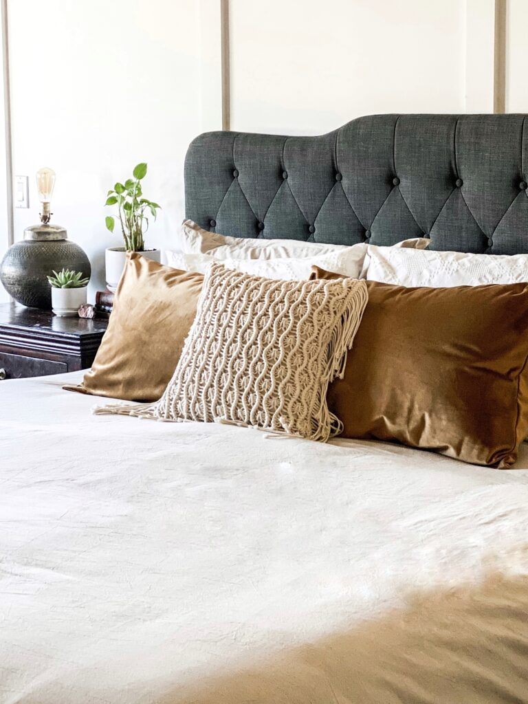 Easy Fall Bedroom Refresh On a budget