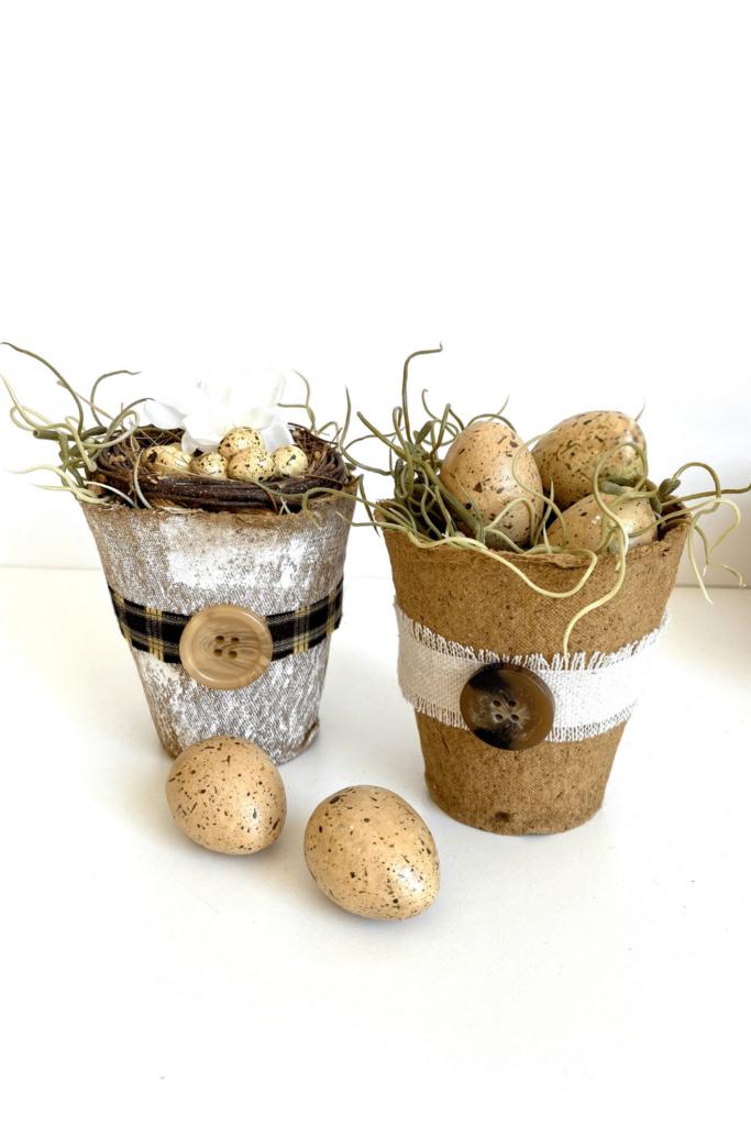 Mini Flower Pots DIY